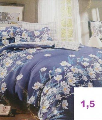 ТЁПЛЫЙ ХЛОПОК.Комплект постельного белья.(1,5-спальный)